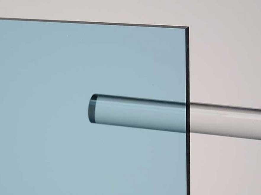 Plexiglas Blue 5C18