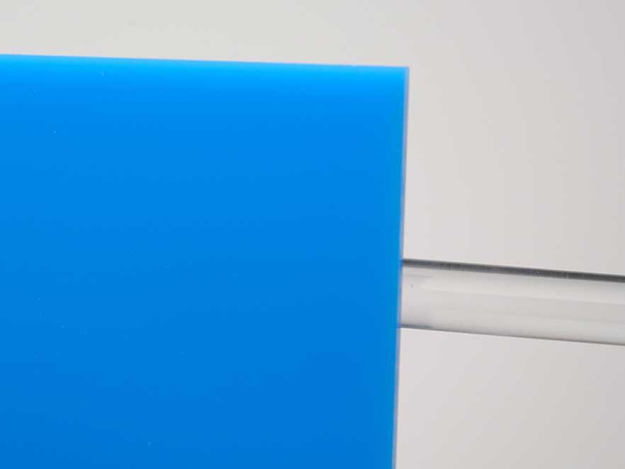 Plexiglas Blue 5N370