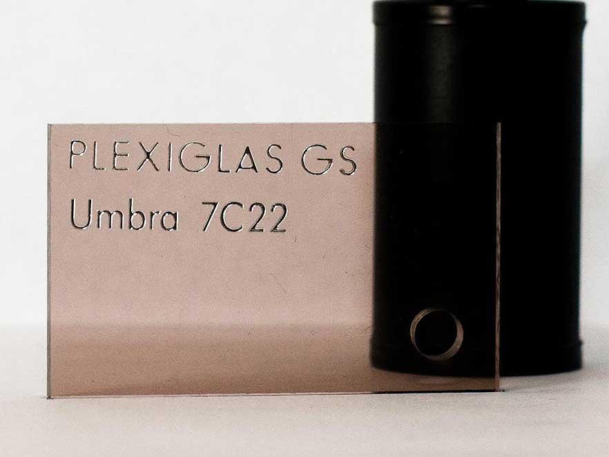Plexiglas Brown 7C22