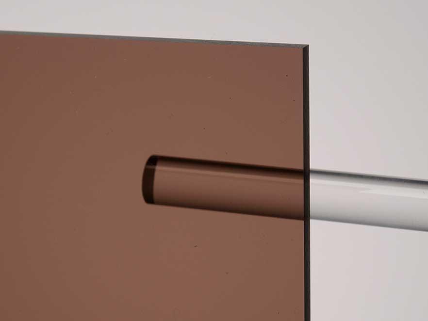 Plexiglas Brown 7C27