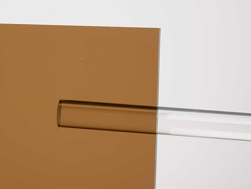 Plexiglas Brown 8A570