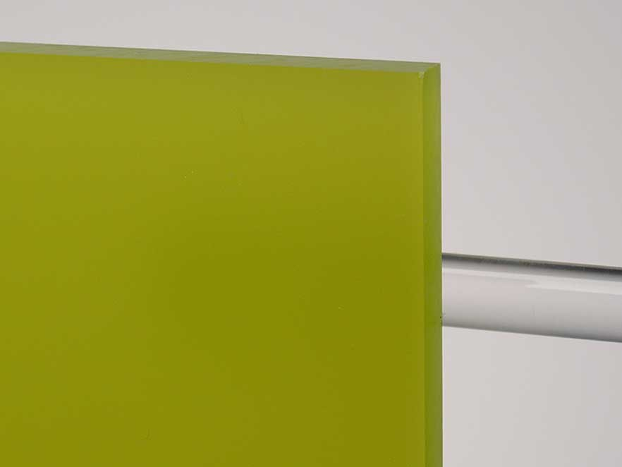 Plexiglas Satinice Green 6H07 DC
