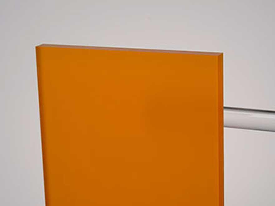 Plexiglas Satinice Orange 2C01 DC