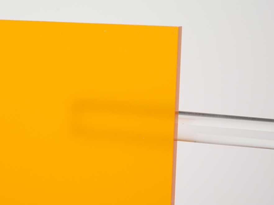 Plexiglas Orange 2C02