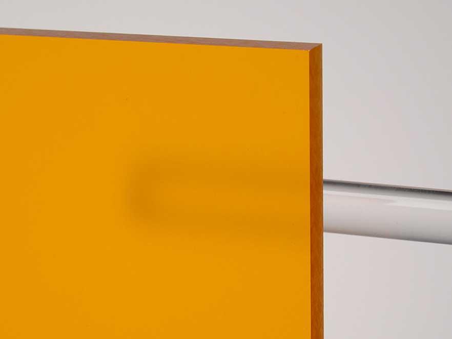 Plexiglas Orange 2H08