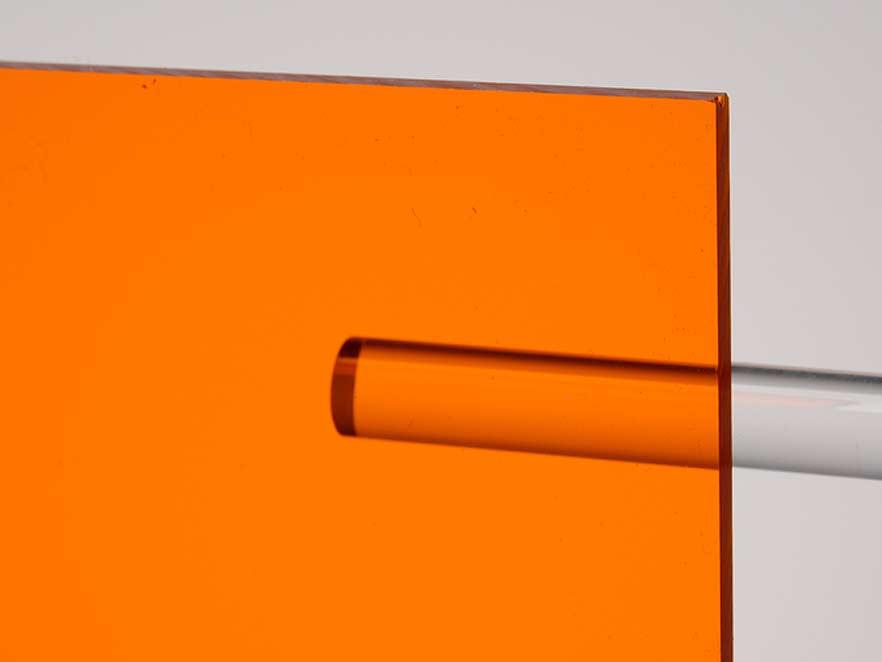 Plexiglas Orange 2C04