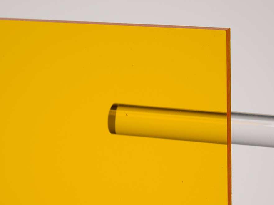Plexiglas Yellow 1C33