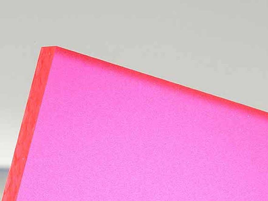 Plexiglas Satinice Red 3C02 DC
