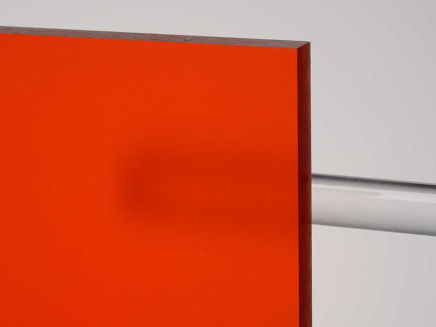 Plexiglas Satinice Red 3C04 DC