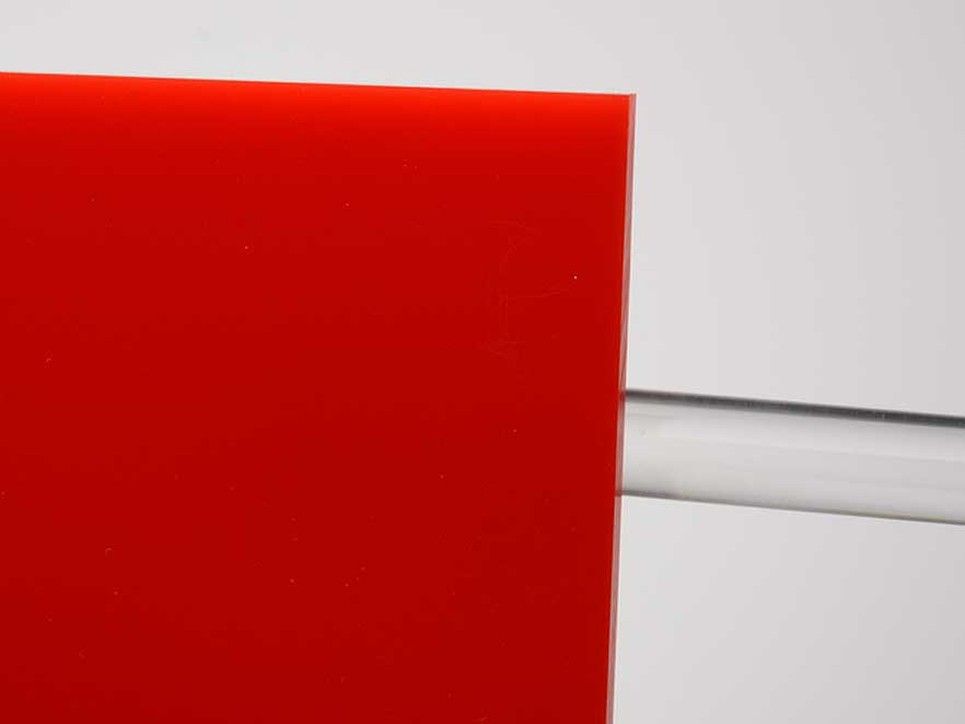 Plexiglas Red 3H25