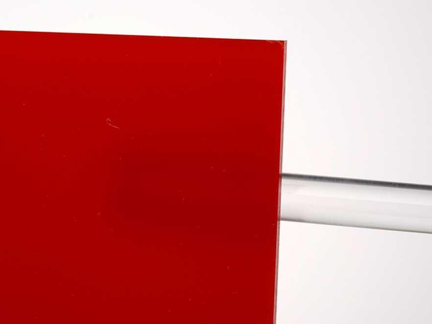 Plexiglas Red 3H55