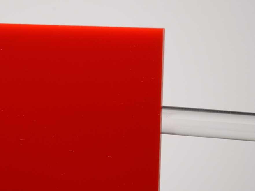 Plexiglas Red 3N570