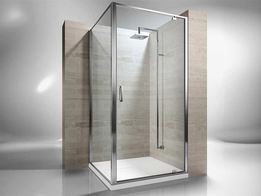 Stikla dušas kabīnes