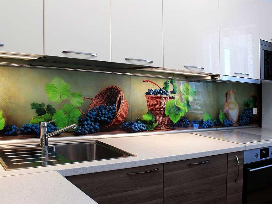Virtuves sienas paneļi ar fotodruku