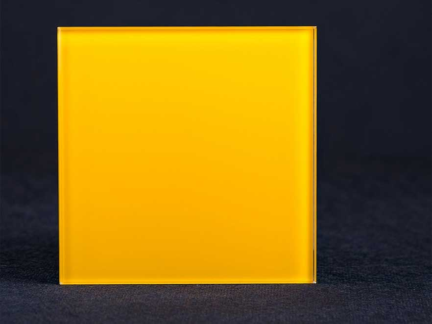 Lacobel Yellow 1023