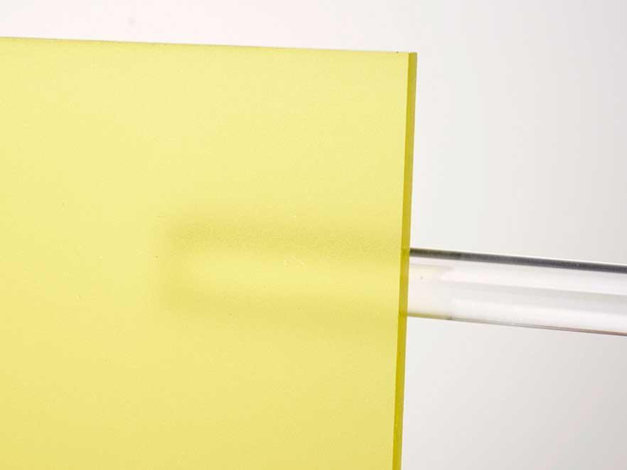 Plexiglas Yellow 1C01
