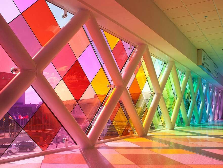 Krāsu gaismas filtri
