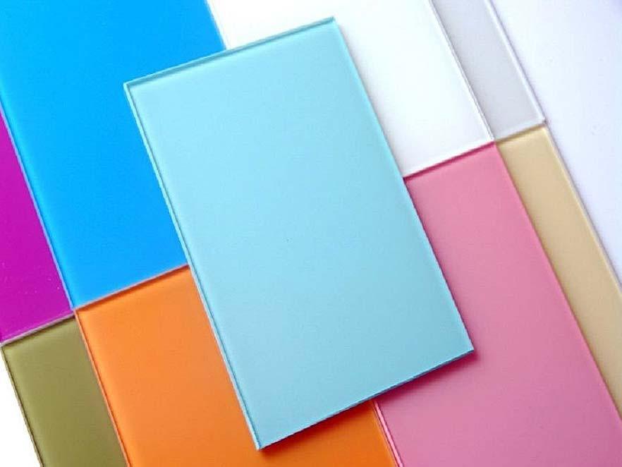 Покраска стекла