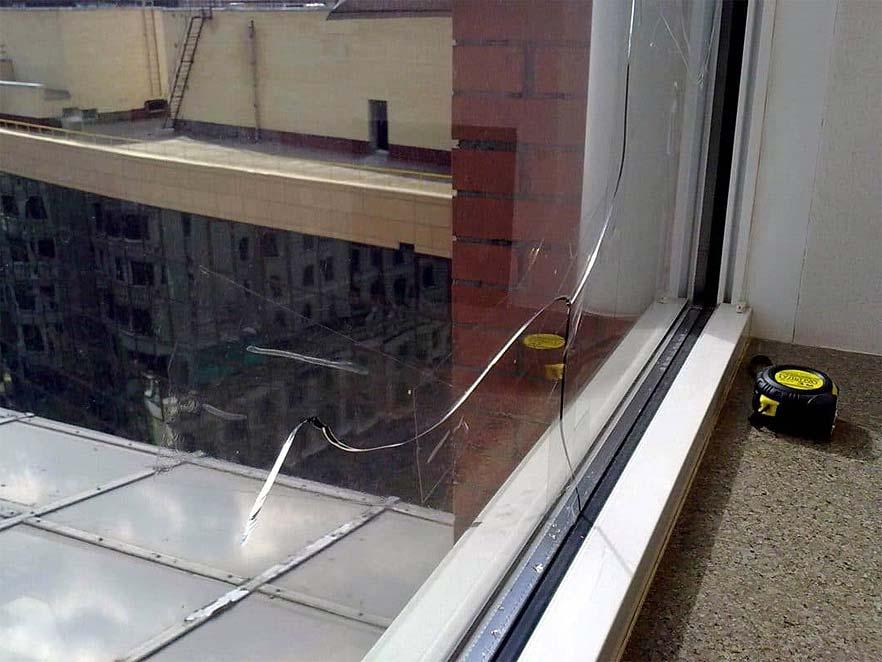 Stikla pakešu maiņa