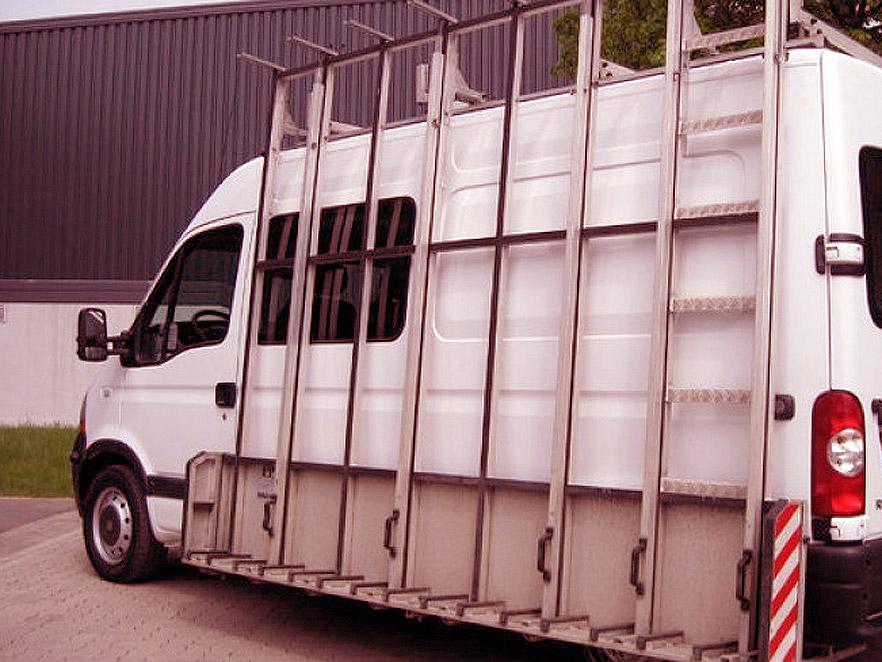 Glass transportation