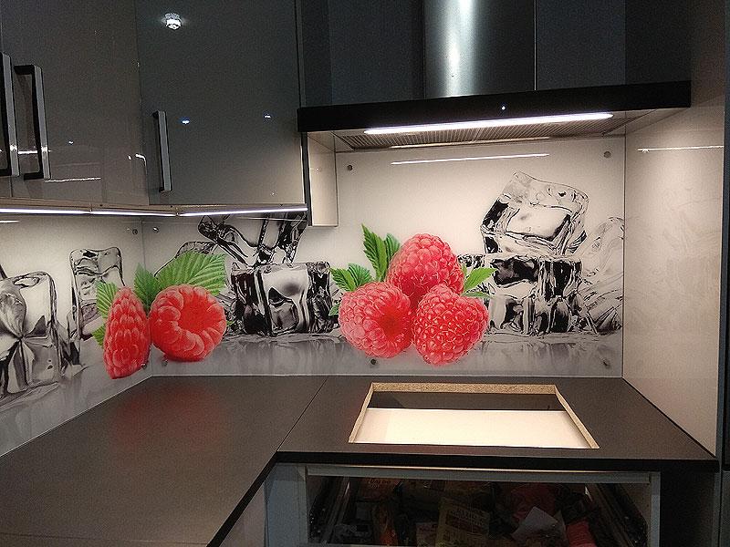 Sulīgs ogu virtuves panelis