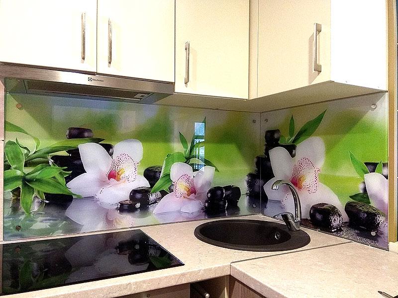 Кухонная панель в стиле СПА