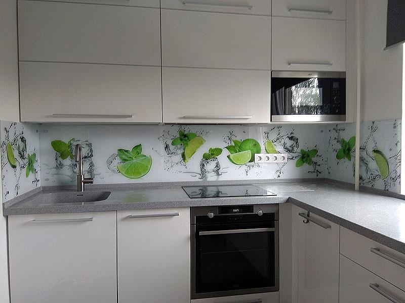 Ledus un laims (virtuves panelis)